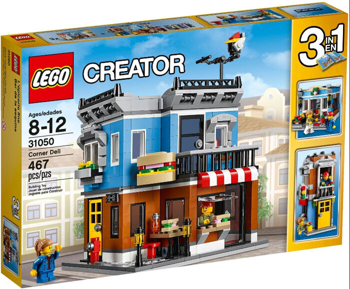 LEGO 31050 CREATOR 31050 Corner Deli  (New sealed)