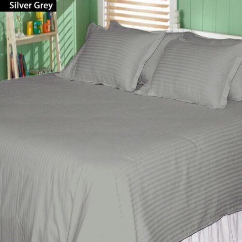 Full XL Size 1 PC Flat Sheet+2 PC Pillow Case 1000 Thread Count Egyptian Cotton
