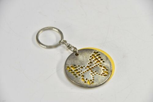 Neiman Marcus The Next 100 Years Silver Key Chain w// Butterfly