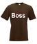T-Shirt Hommes je suis le BOSS I Proverbes I fun i drôle à 5xl