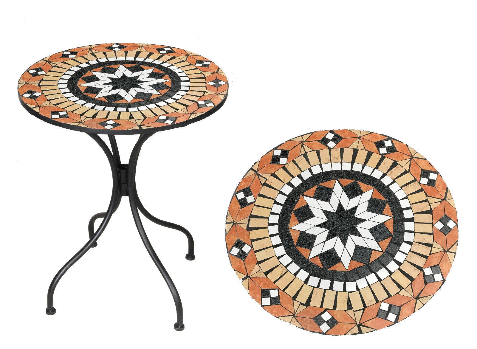 Bistro Mosaik Tisch   Garten Terrassen Tisch 60cm 60cm 60cm ( ) c9bd31