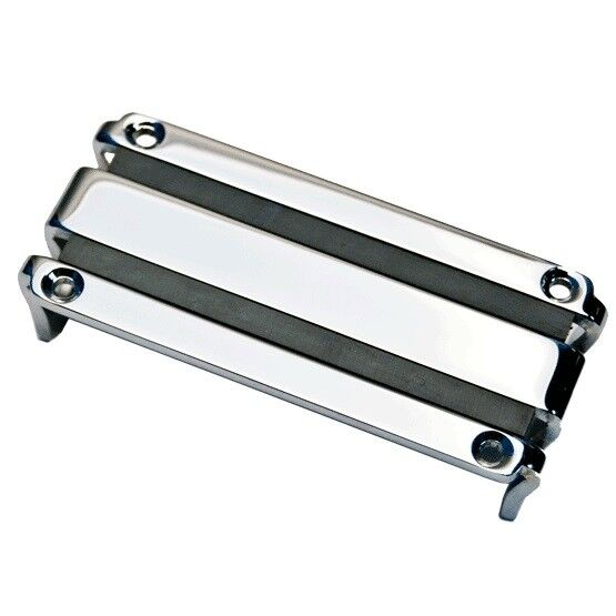 Lace Alumitone Bass 'Soap Bar' Pickup in Chrome with 5 Years UK Warranty