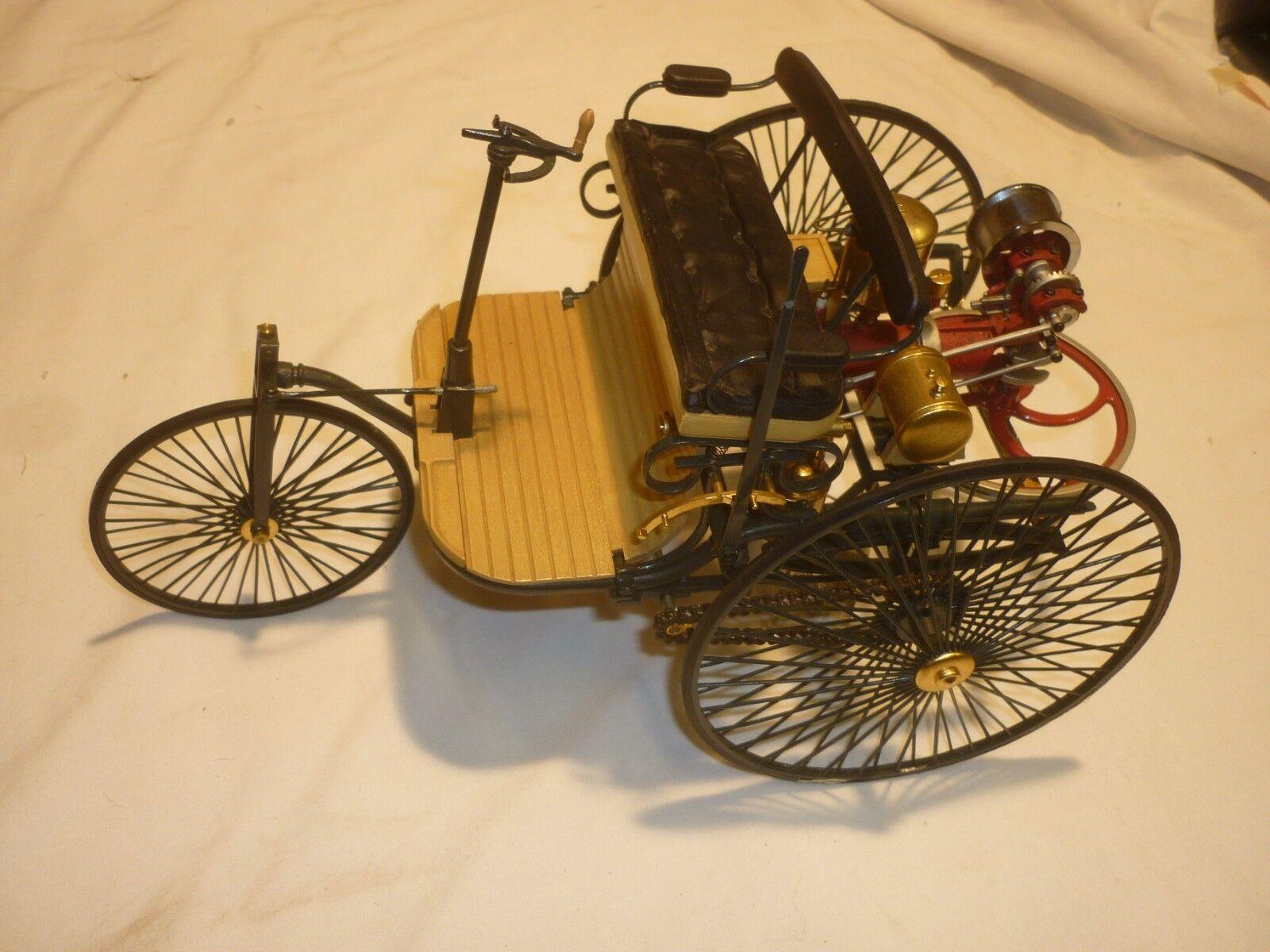 A Franklin mint, 1886 Benz Patent motorwagen, no box. no paper work,
