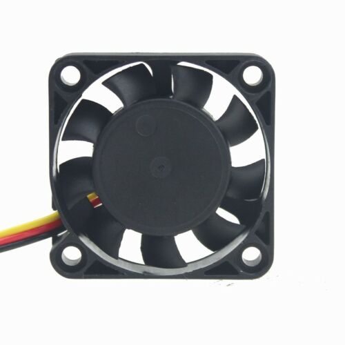 5pcs Lot 12V 4cm 40mm 40x40x10mm 3Pin Brushless Cooling Cooler Fan 9Blades new
