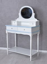 Item 2 Mirror Table Country Style Console Make Up With White