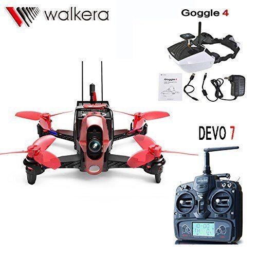 Walkera Rodeo  Racing RC Quadcopter Rtf Drone mm Devo 7 TX con 5.8G 40CH