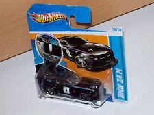 BMW Z4 M schwarz auf short-card HW 12 Hot Wheels Modell Auto Muscle Car Rod Weel