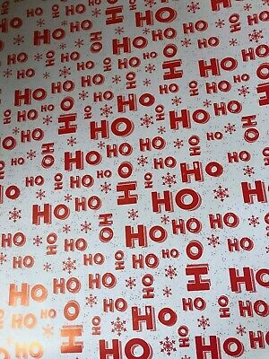 4m 8m 12m 16m COLOURED TREES WRAPPING PAPER CHRISTMAS PRESENTS STYLES WHITE NEW