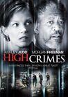 High Crimes 0024543051473 With Ashley Judd DVD Region 1