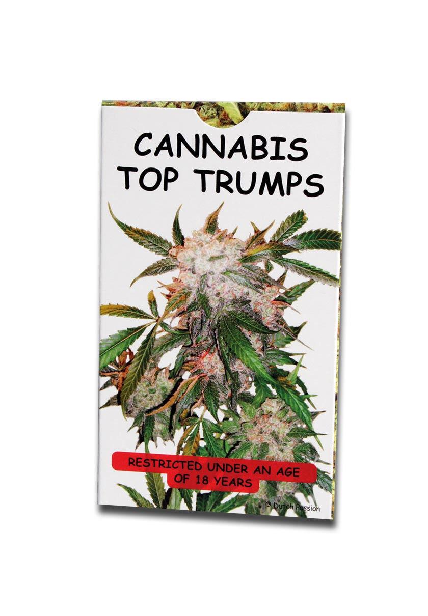 Kartenspiel Cannabis Top Trumps Limited Edition NEU