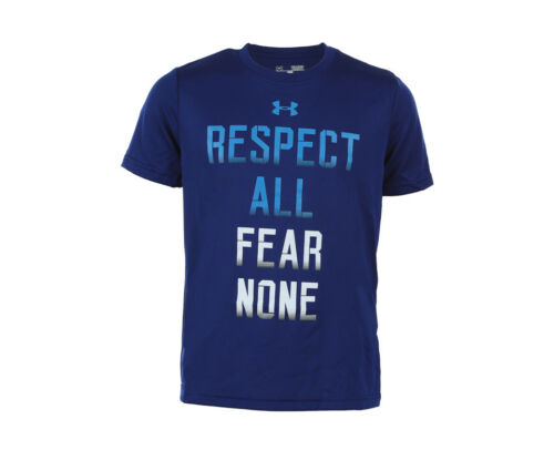 9-10 Under Armour Kid/'s UA Fear None T-Shirt YMD - Blue