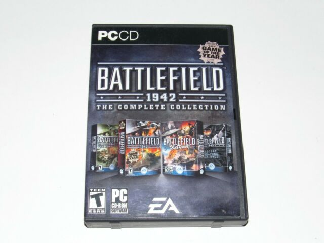 Battlefield 1942 The Complete Collection PC Game 2006 8 Discs