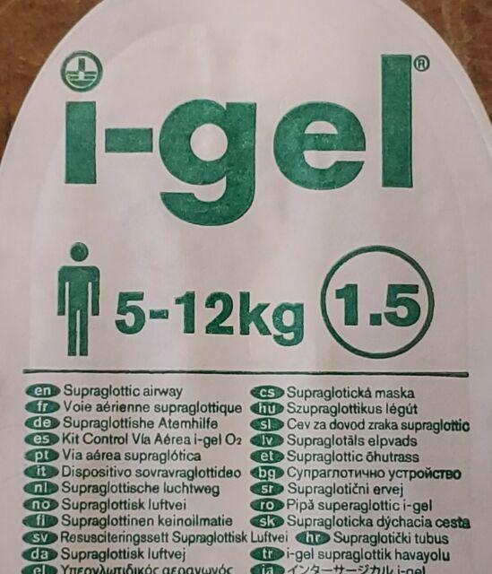 igel supraglotic pediatric airway size 15 biad ems medic
