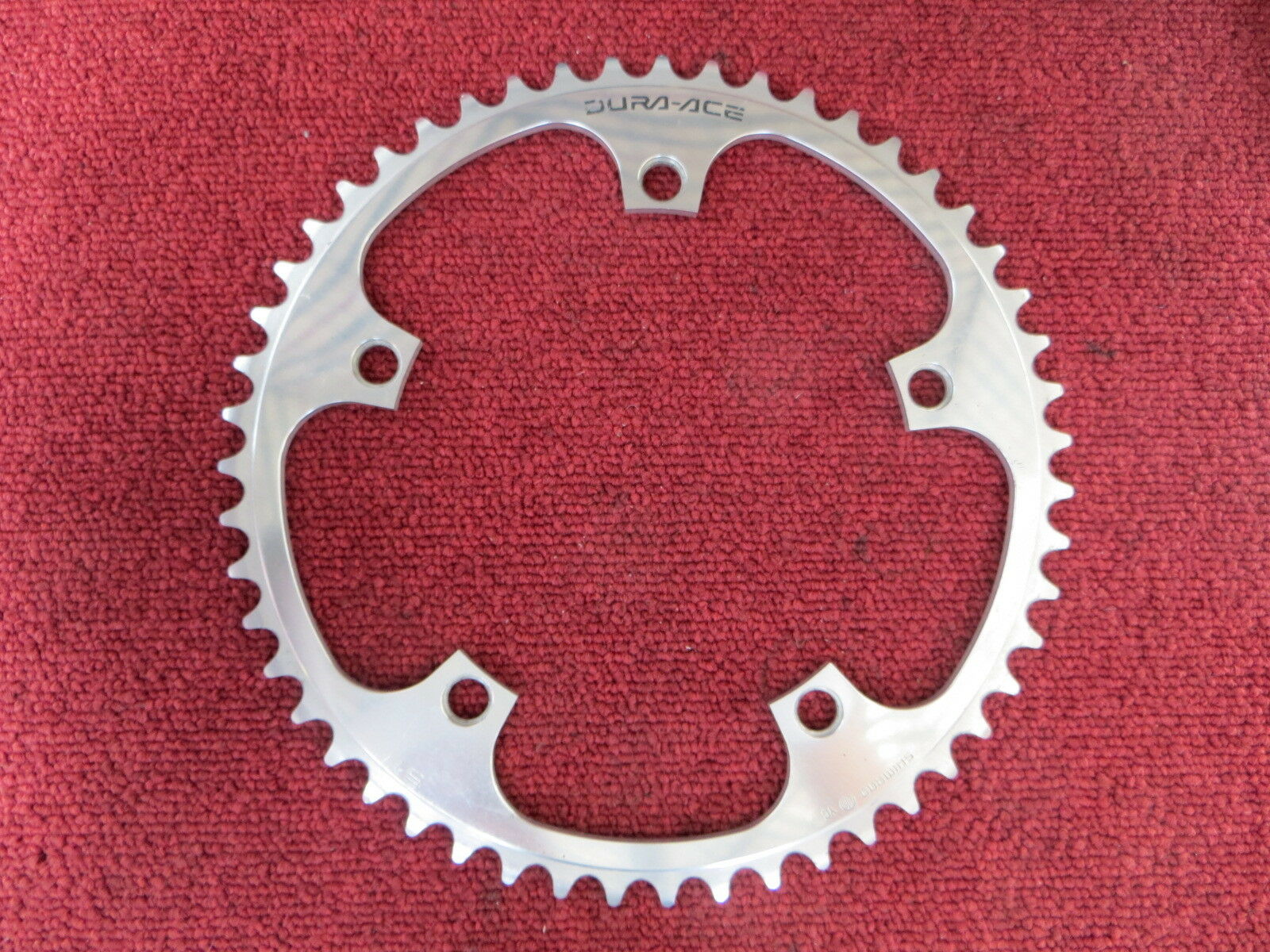 Shiuomoo Dura Ace FC7600 144BCD 18  NJS Chainring 51T Fixed Gear 18062828