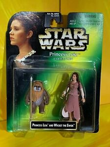 Star Wars - Power of the Force - Princess Leia & Wicket Ewok (Leia Collection)