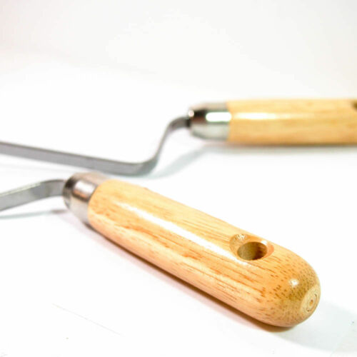 8 MM Pointing Trowel 8 Inches Long Wooden Handle 2-Pack