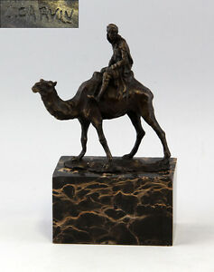 Metalware Smart Bronze Bronze Camel Riders New 9937165-dss