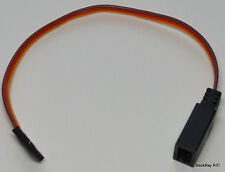 (1) JR/Hitec Compact Y Servo Extension Leads / Splitters with 15CM 22awg Wire