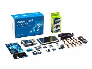 "Neuf Microsoft Grove Starter Kit Ito Pour Raspberry Pi 3 Pi 2 Avec écran 5""!-afficher Le Titre D'origine"