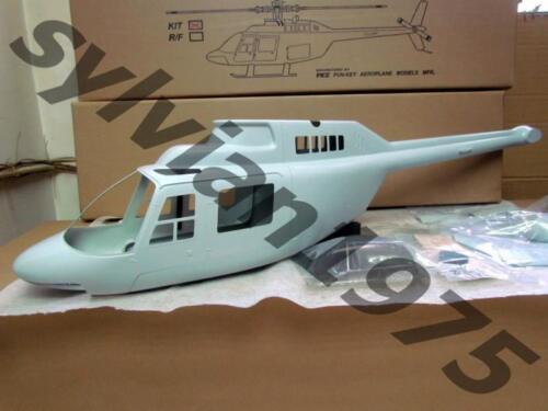 30 Funkey Jet Ranger V2 fuselage Non peinte Taille New in Box 550