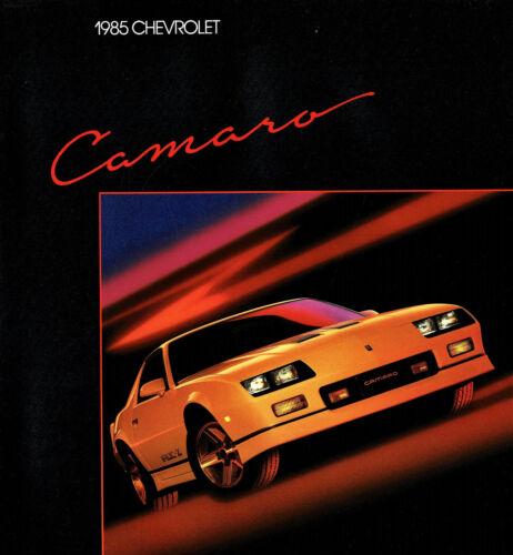 1985 Chevrolet Camaro Z28 IROC Berlinetta Sport Coupe Dealer Sales Brochure