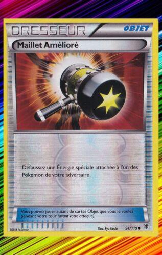 Maillet Amélioré Reve-XY4:Vigueur Spectrale-94//119-Carte Pokemon Neuve Française