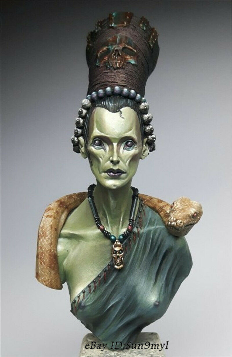 1  10 drottning of the Night hkonsts busst modelllllerler Kits Unassed GK