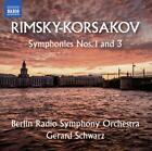 Sinfonien 1+3 von Rso Berlin,Gerard Schwarz (2016)