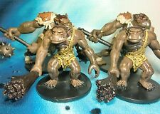 Dungeons & Dragons Miniatures Lot  Ogre Pulverizer Giant Warriors !!  s112