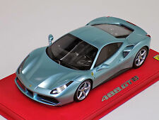1/18 BBR Ferrari 488 GTB Azzurro Thetis leather base Lim 10