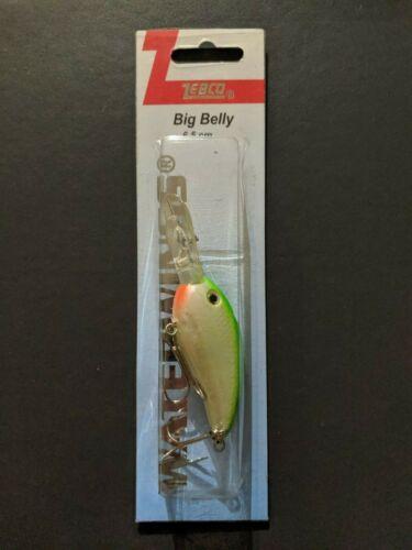 Zebco Waterwings Freshwater Predator Lures 2 treble hooks Floating//diving