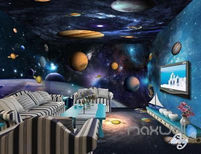 Star Wars Space Planet Galaxy Entire Room 3d Wallpaper Wall Mural Decals Wallpaper Murals Home Improvement