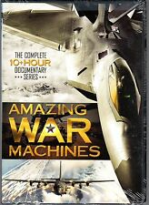 Amazing War Machines - Complete 10+ Hour Documentary Series - 3 DVD Set NEW
