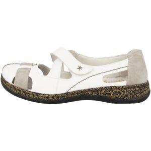 Sandal Blanc Slipper 46367 Rieker femmes Massa Shoes Ballerina 80 pour Combinaison txdZyqw