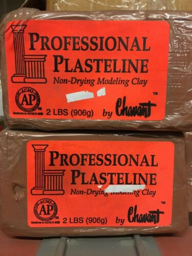 Chavant Modeling Clay non-drying Brown