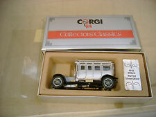 1985 MADE IN GREAT BRITAIN CORGI C860 1912 ROLLS-ROYCE SILVER GHOST MIB