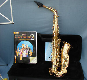 YAMAHA-YAS-62-ALT-Saxophon-Buch-Koffer-Notenstander-Zubehor-Soundline-K-amp-M-E3187
