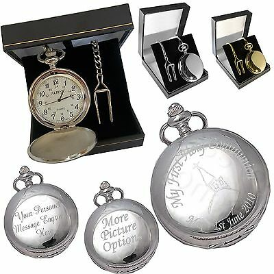 Engraved Pocket Watch Son
