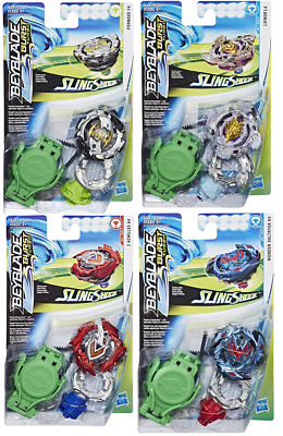 Beyblade Burst SLINGSHOCK LUINOR L4, VALTRYEK V4, FORNEUS F4 etc you choose  | eBay