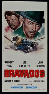 Plakat Bravados Gregory Peck Lee Van Cleef Joan Collins Stephen Boyd L08