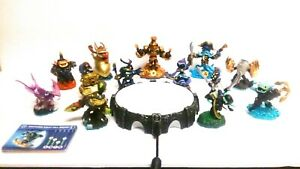 Skylanders Imaginators Nintendo Wii Lot 13 Figures, Portal of Power Base & Cards