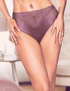 M/&S Marks /& Spencer Autograph Blue High Leg Knickers with Cashmere Size 20 NEW