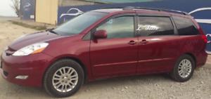 For Toyota Sienna II 2003-2010 Window Visors Sun Rain Guard Vent Deflectors