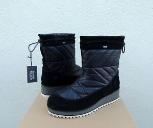 4b72a50a48a Details about UGG BECK BLACK WATERPROOF SUEDE/ NYLON WINTER BOOTS, WOMEN US  5/ EUR 36 ~NEW
