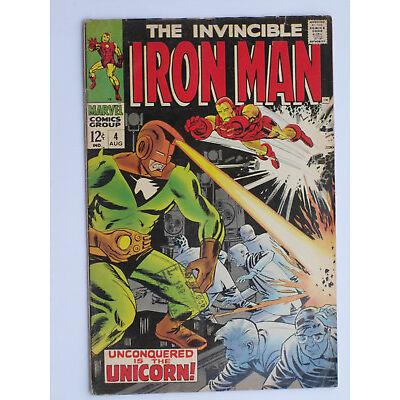 IRON MAN # 2 - 101 US MARVEL 1968-1977    VG - FN - VFN-NM
