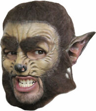 Wolf Deluxe Chinless Mask Adult Halloween Accessory