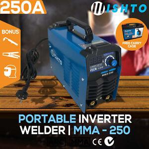 MISHTO MMA-200WD 200Amp DC iGBT Portable Inverter Welder Stick Welding Machine