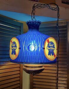 Vintage Michelob Beer Bar Hanging Lamp Chandelier