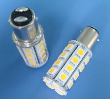 10x BA15D 1142 Warm White LED bulb Boat lights 30-5050SMD AC/DC12~24V #AZWW