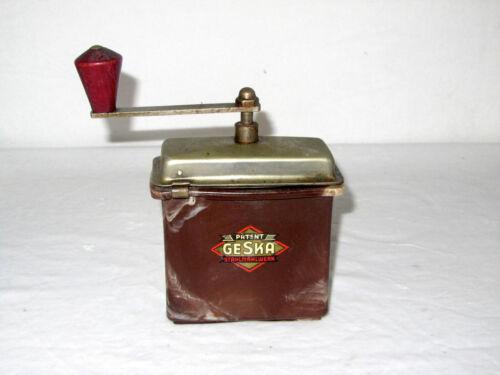 Antique Geska Steel Grinder Coffee mill